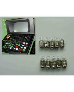 10x Lampe für Deckel NC Fräsmaschine mit Dialog 11 (Nr. 51040007)