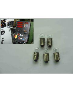 5x Lampe für FP1, FP2,FP3 Aktiv der Deckel Fräsmaschine