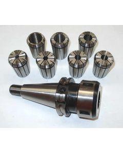 Spannzangenfutter SK40 S20x2 OZ 462 7-Zangen z.B. für Deckel Fräsmaschine