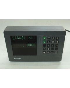 2 Achsen Zähler im Austausch (Exchange) Visu 702 A100  Digitalanzeige von Axesta