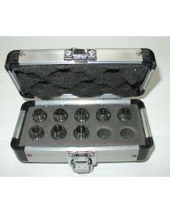 Präzision Spannzangensatz ER16 D3-10, Rl. max. 5µm, z.B. für Deckel Fräsmaschine