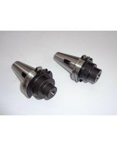 2 Kegelreduzierhülsen MK1,2 SK40 DIN69871 Deckel Fräsmaschine