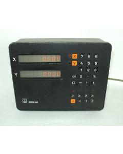 2 Achsen Zähler im Austausch (Exchange) VRZ 720B  Digitalanzeige von Heidenhain