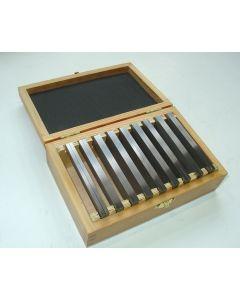 Parallelleistensatz - Parallelunterlagen 100x4 mm 9 Satz, Deckel  Fräsmaschine