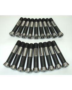 Spannzangensatz 355E D1 - 18mm 1mm steigend NEU z.B. für Deckel Fräsmaschine