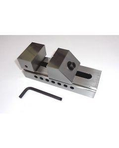 Schleif- Schraubstock QKG Niederzug, Backenb.63mm neu z.B.f. Deckel Fräsmaschine