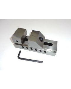 Schleif- Schraubstock QKG Niederzug, Backenb.50mm neu z.B.f. Deckel Fräsmaschine