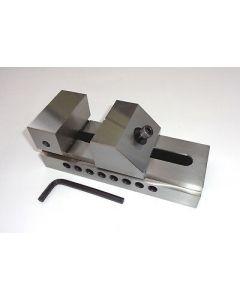 Schleif- Schraubstock QKG Niederzug, Backenb.73mm neu z.B.f. Deckel Fräsmaschine