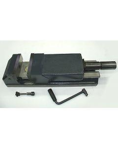 Maschinen- Schraubstock Allmatic 160 gebr. mit Drehplatte, Deckel Fräsmaschine