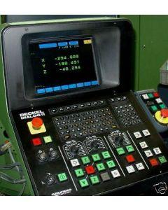 Monitor TFT für Deckel CNC-Fräsmaschine mit Dialog 11