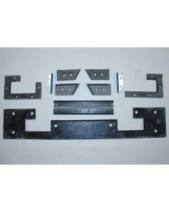 Abstreifer Komplettsatz für Deckel Fräsmaschine FP4NC 2838