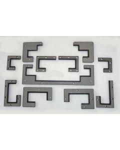 Abstreifer Komplettsatz für Deckel Fräsmaschine FP3CCT 2825