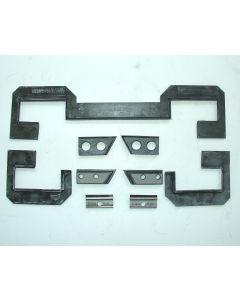 Abstreifer Komplettsatz für Deckel Fräsmaschine FP3NC / FP3A