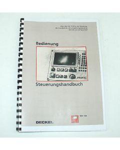 Bedienerhandbuch Deckel FP1, FP4MK mit TNC123 Steuerung
