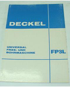 Broschüre Deckel FP3L, ca. Bj. 70