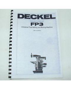 Betriebsanleitung Deckel Fräsmaschine FP3, ab Bj.78 english TNC113