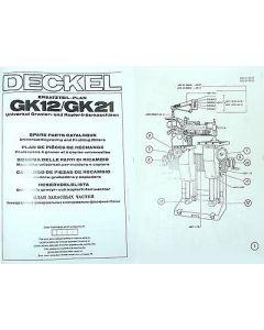 Ersatzteilplan Deckel GK12/21