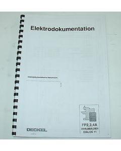 Elektrische Unterlagen Fräsmaschine Deckel FP2-3-4 A Dialog11