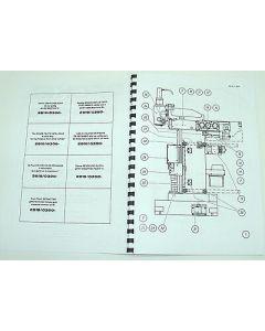 Ersatzteilplan Deckel Fräsmaschine FP2A 2819