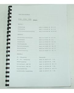 Elektrische Unterlagen Deckel Fräsmaschine FP2-3-4 NC bis Bj. 85 Dialog3