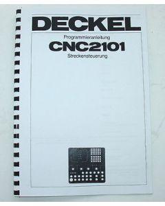 Programmieranleitung Deckel FP3A 2206-2101