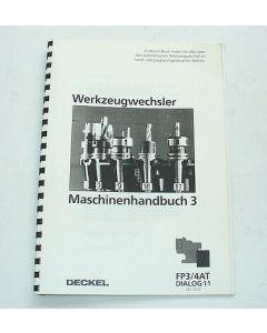 Bedienerhandbuch für Deckel FP3AT, FP4AT Dialog11