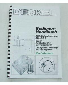 Bedienerhandbuch Deckel Fräsmaschine Nachrüstsatz Dialog3