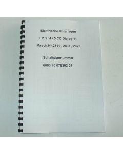 Elektrische Unterlagen Deckel Fräsmaschine FP3-4-5CC Dialog11