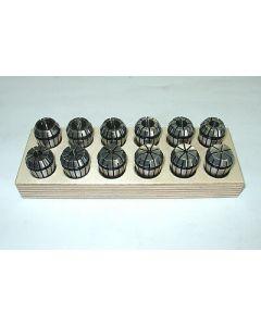 Spannzangensatz ER20 D2-13mm Rl. max 8µm z.B. für Deckel Fräsmaschine