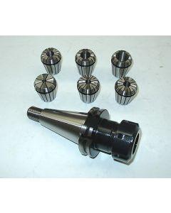 Spannzangenfutter SK40 S20x2 ER32 mit 6 Spannzangen z.B. für Deckel Fräsmaschine