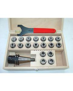 Spannzangenfutter SK40 S20x2 ER32 D 3-20 Rl. max 8 z.B. für Deckel Fräsmaschine