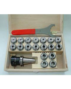 Spannzangenfutter SK40 DIN 69871 ER40 D4-21 Rl.max. 8µm für Deckel Fräsmaschine