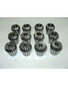Spannzangensatz ER50 D12-34mm 2mm steigend z.B. für Deckel Fräsmaschinen