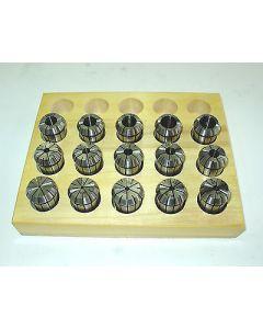 Spannzangensatz OZ415 Zwischengrößen D1,5-15,5