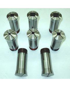 Spannzangensatz Vierkant 5C 2,4,6,8,10,12,16,18 mm