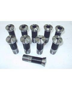 Spannzangensatz Sechskant -NEU- 386E 4-22mm 10 Stk. für Weiler Drehmaschine
