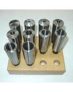 Direktspannzangensatz MK4 S20x2 D4-25 NEU z.B für Deckel Fräsmaschine