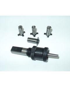 Spreizdorn Zylindrisch 12mm Schaft, D7,5 - 9mm, 0,5mm steigend
