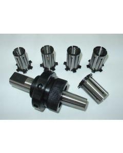 Spreizdorn Zylindrisch 25mm Schaft, D24,5 - 28,5mm, 1,0mm steigend