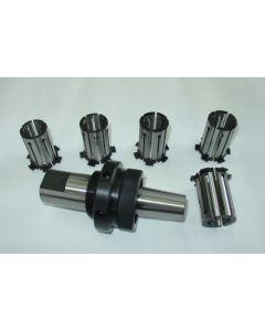 Spreizdorn Zylindrisch 40mm Schaft, D34,5 - 38,5mm, 1,0mm steigend