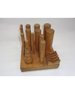 Holzablage für Fräsdorn Zwischenring gebr. z.B. für Deckel Fräsmaschine
