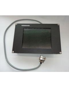 TFT Monitor BC110 F im Austausch Heidenhain Id.Nr.617526-01