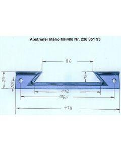 Z - Abstreifer 23085193 für Maho MH400